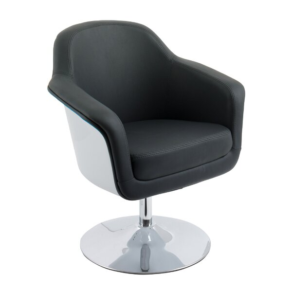 Deckert Swivel Armchair by Orren Ellis