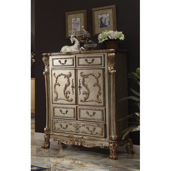 Perales 5 Drawer Chest By Astoria Grand by Astoria Grand Best Choices