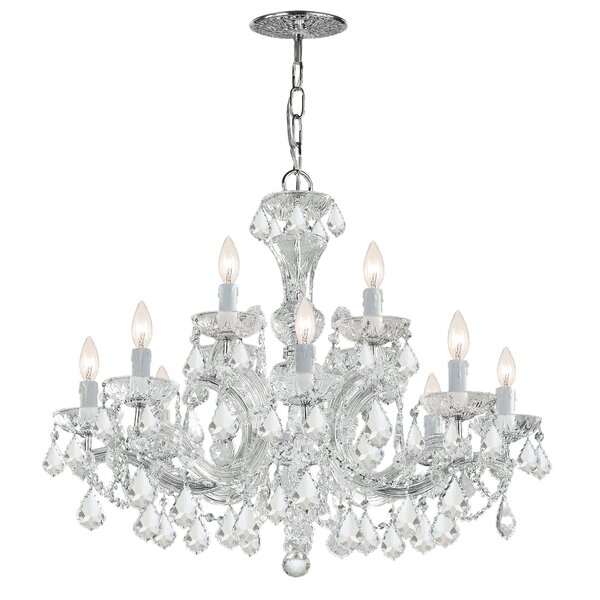 Griffiths 12 - Light Candle Style Tiered Chandelier By House Of Hampton