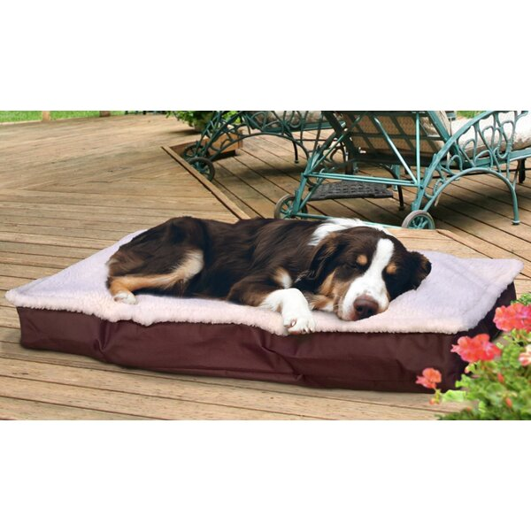 Blossom Deluxe Outdoor Pillow Dog Bed by Tucker Murphy Pet