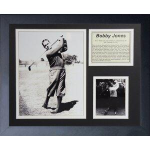 Bobby Jones Framed Memorabilia by Legends Never Die