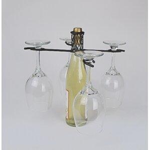 Industrial Evolution 1 Bottle Tabletop Wine Rack by Metrotex Designs