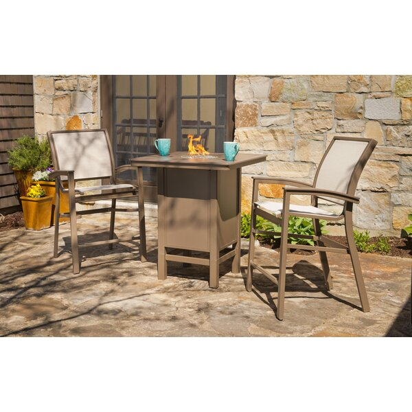 Kendall 26-inch Patio Bar Stool by Telescope Casual Telescope Casual