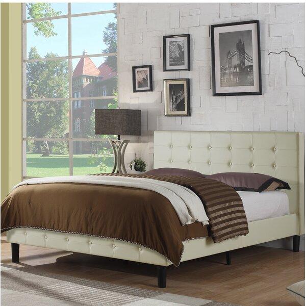 Hanke Upholstered Platform Bed by Mercury Row