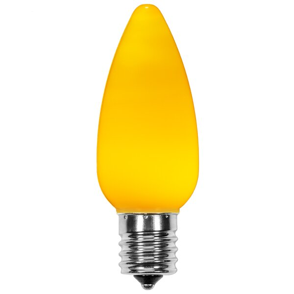 120W E17 Dimmable LED Candle Light Bulb Yellow (Set of 25) by Wintergreen Lighting