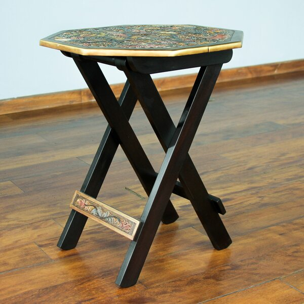 Folding End Table By Novica Reviews