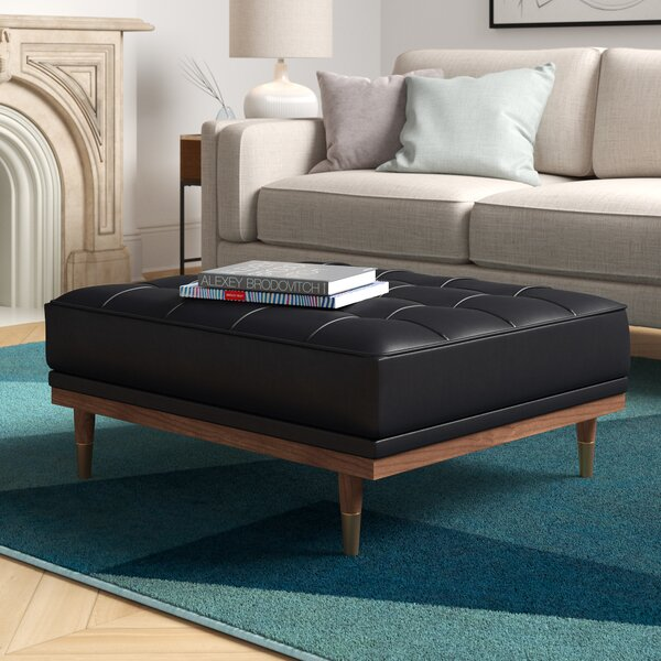 Low Price Ledger Tufted Cocktail Ottoman