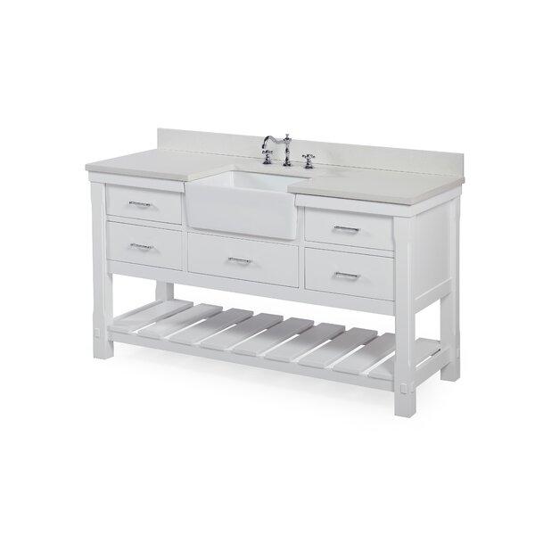Charlotte 60 Single Bathroom Vanity Set by Kitchen Bath Collection