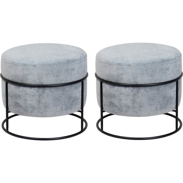 Helmsley Vanity Stool (Set of 2) by Everly Quinn