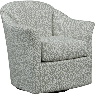 Lovely Tub Style Swivel Barrel Chair