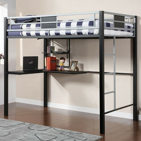 Yeomans Contemporary Full Loft Bed by Orren Ellis