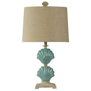 Affordable Price Addilynn Clam Shells 31 Table Lamp By Highland Dunes