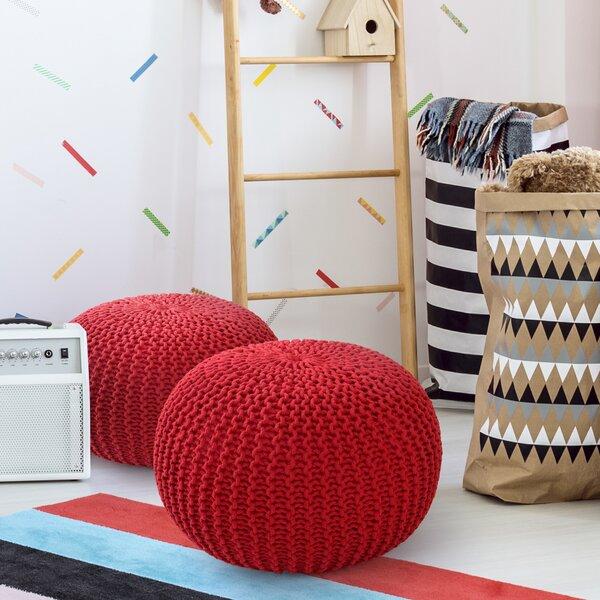 Aranda Sphere Pouf by Ebern Designs