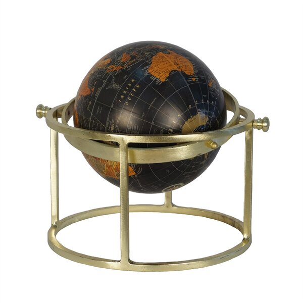 Globe on Ring Stand by Charlton Home