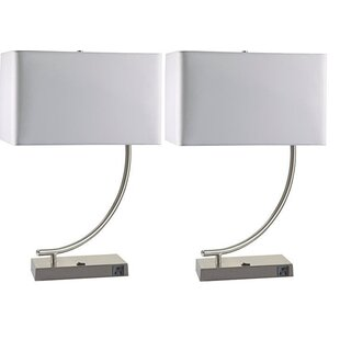 Comparison Kristeen 22.5 Table Lamp (Set of 2) By Orren Ellis
