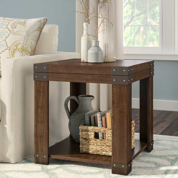 Angelique End Table with Storage by Darby Home Co