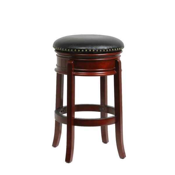 Kingsford 29 Swivel Bar Stool by Charlton Home