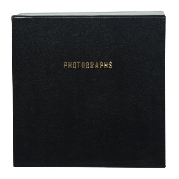 Premium Leather Photo Scrapbook (Set of 3) by Brayden Studio
