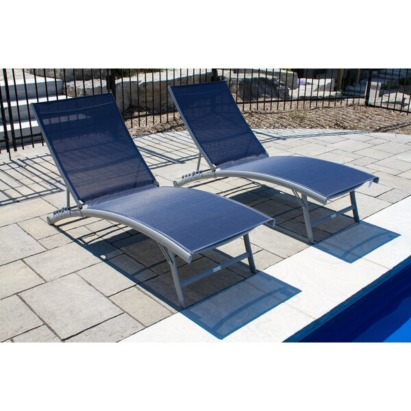 Bookout Sun Lounger Set (Set Of 2) By Orren Ellis