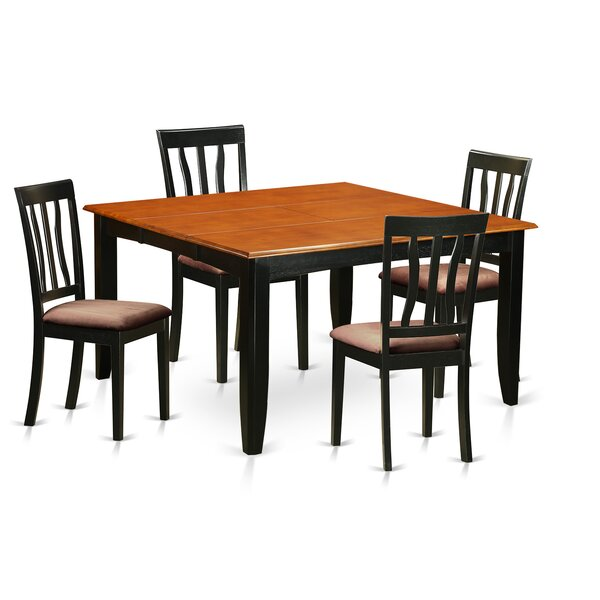Looking for Parfait 5 Piece Extendable Dining Set By Wooden Importers Sale