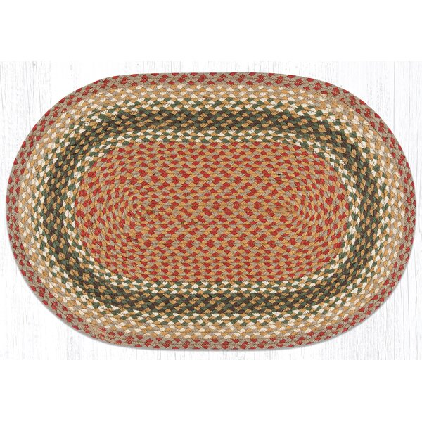Hand-Woven Burgundy/Gray Area Rug by Earth Rugs