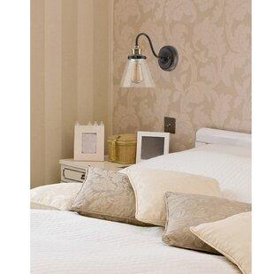 bedroom sconce lighting. Paterson 1-Light Armed Sconce Bedroom Lighting S
