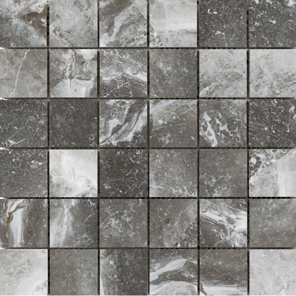 Vienna 2 x 2 Porcelain Mosaic Tile in Strausse by Emser Tile