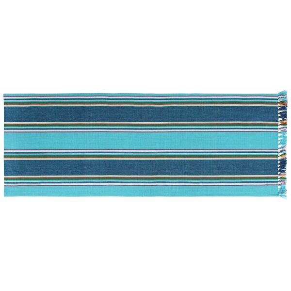 Hallsboro Striped Table Runner (Set of 2) by Highland Dunes