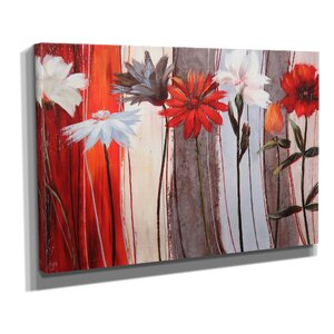'Spring Debut' Painting Print on Wrapped Canvas by Zipcode Design