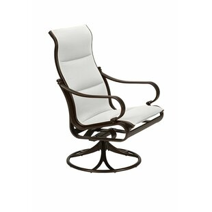 Torino Padded Sling High Back Swivel Rocking Chair with Cushion Tropitone