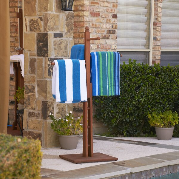 June Eucalyptus Free Standing Towel Stand by Wildon Home ®