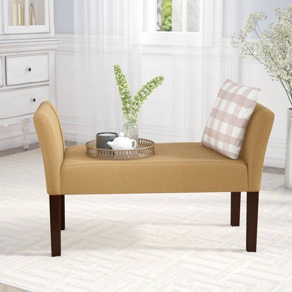 Millerstown Upholstered Bench by Andover Mills