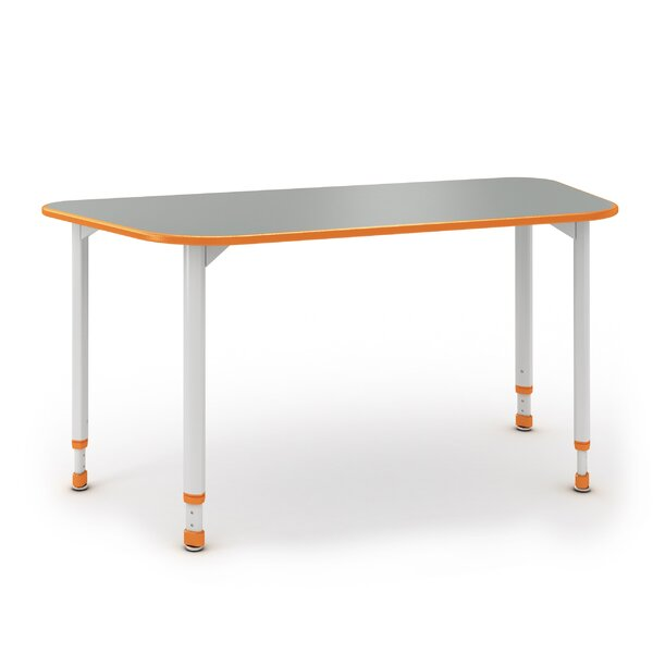 A&D 54'' x 24'' Trapezoidal Activity Table by Paragon Furniture