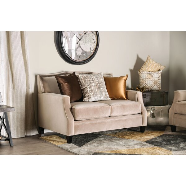 Nicki Loveseat By Canora Grey