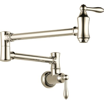Pot Filler Polished Nickel 854 Product Photo