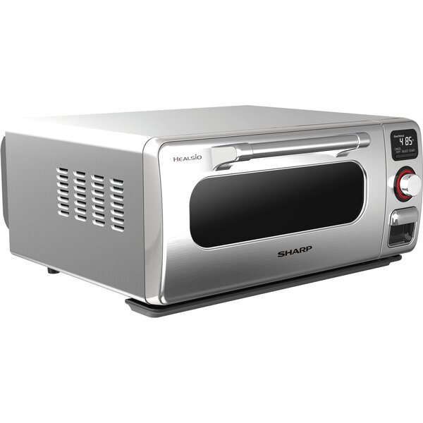 0.5 Cu. Ft. 9 Slice Superheated Steam Countertop Oven by Sharp