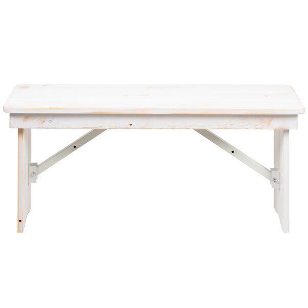 Marthe Bench by Gracie Oaks Gracie Oaks