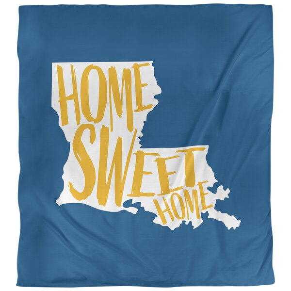 Louisiana Home Sweet Single Duvet Cover
