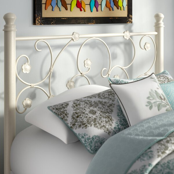 Oldbury Metal Open-Frame Headboard by August Grove August Grove