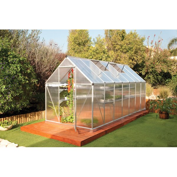 Mythos 6 Ft. W x 14 Ft. D Greenhouse by Palram
