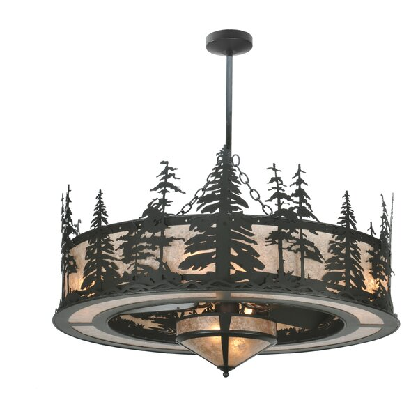 Nolanville 3 - Light Drum Chandelier By Loon Peak
