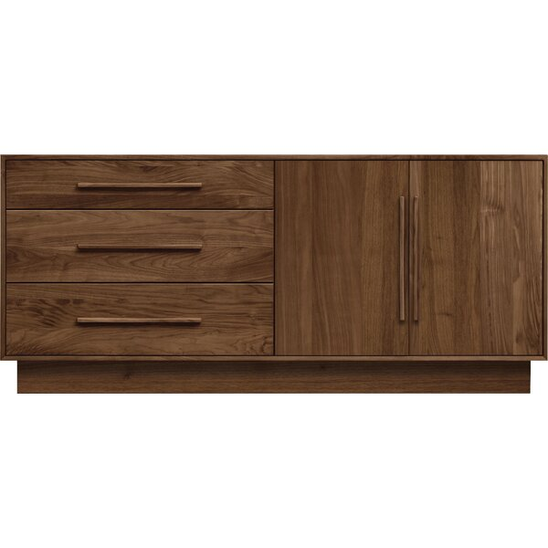 Moduluxe 3 Drawer Combo Dresser by Copeland Furniture