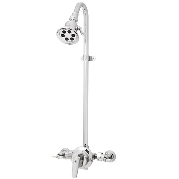 Retro 6-Jet 2.5 GPM Wall Mount Outdoor Shower by Speakman