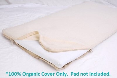 All-in-One Cotton Cradle Mattress Coverlet by Moonlight Slumber