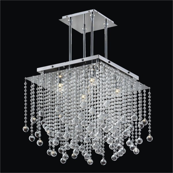 Cohen-Arazi 5-Light Crystal Chandelier by Everly Quinn