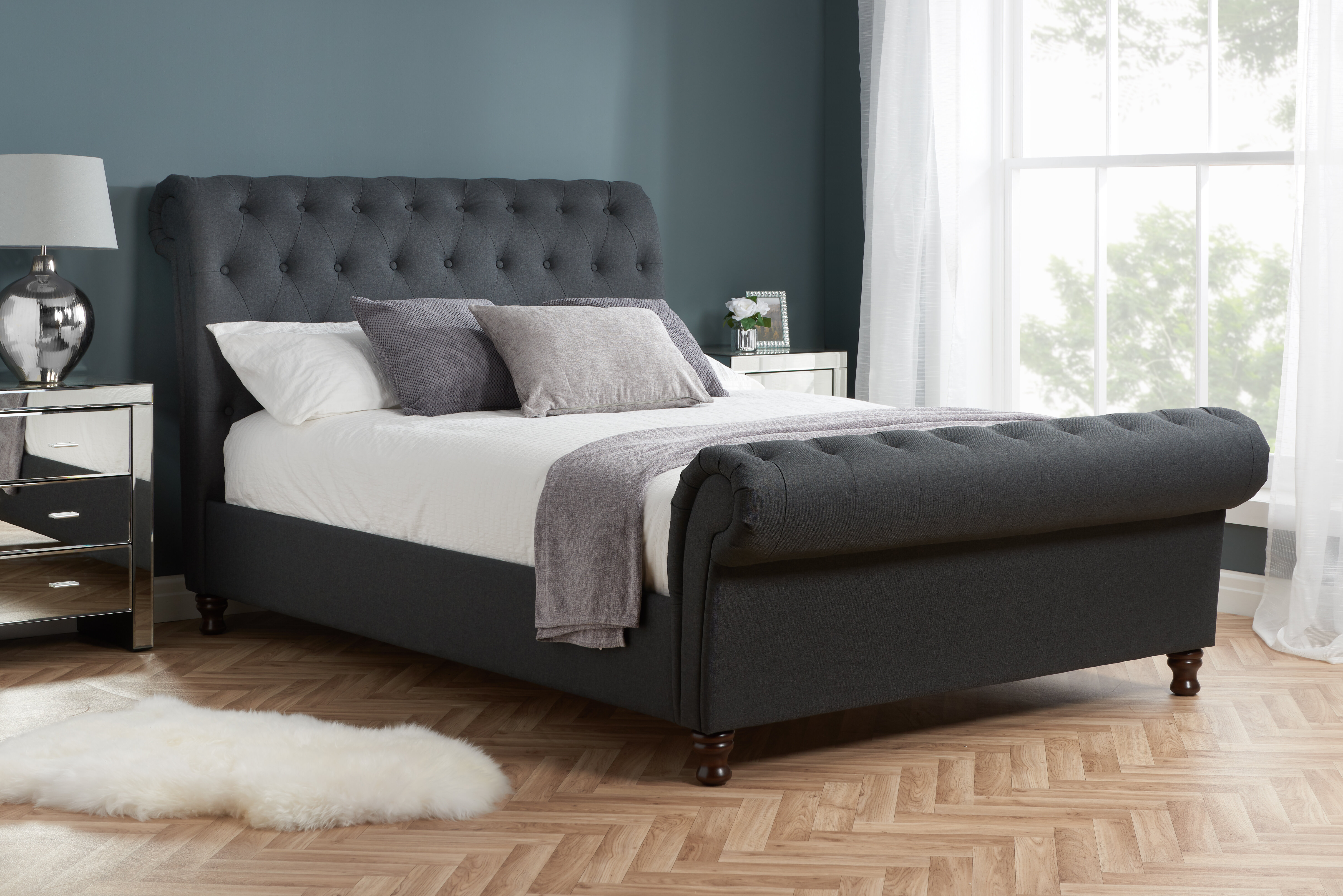 - Ophelia & Co. Gaskell Upholstered Sleigh Bed & Reviews Wayfair.co.uk