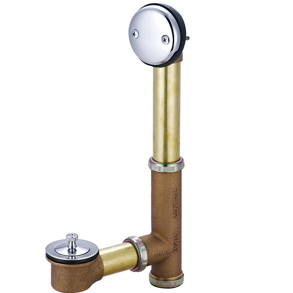 Trip Lever 1.5 Leg Tub Drain by Central Brass