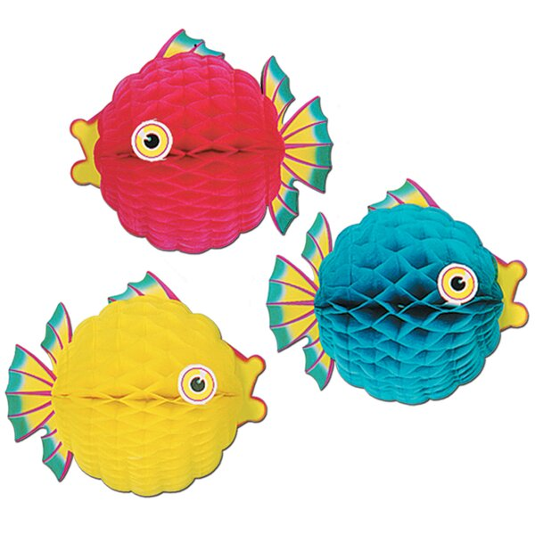 Tissue Bubble Fish by The Beistle Company