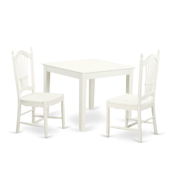 Cobleskill 3 Piece Dining Set By Alcott Hill Comparison