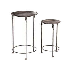 Marketplace 2 Piece Nesting Tables by Hekman